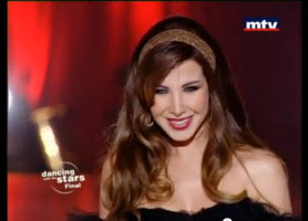 Nancy Ajram – Dancing with the Stars – Akhasmak Ah